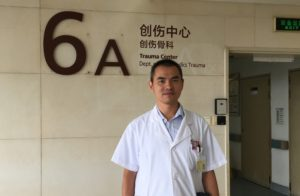 Dr. Fang Wang, orthopedics trauma specialist, recognizes that sometimes doctors can't provide all the care patients need, noting the heavy load Chinese doctors carry.
