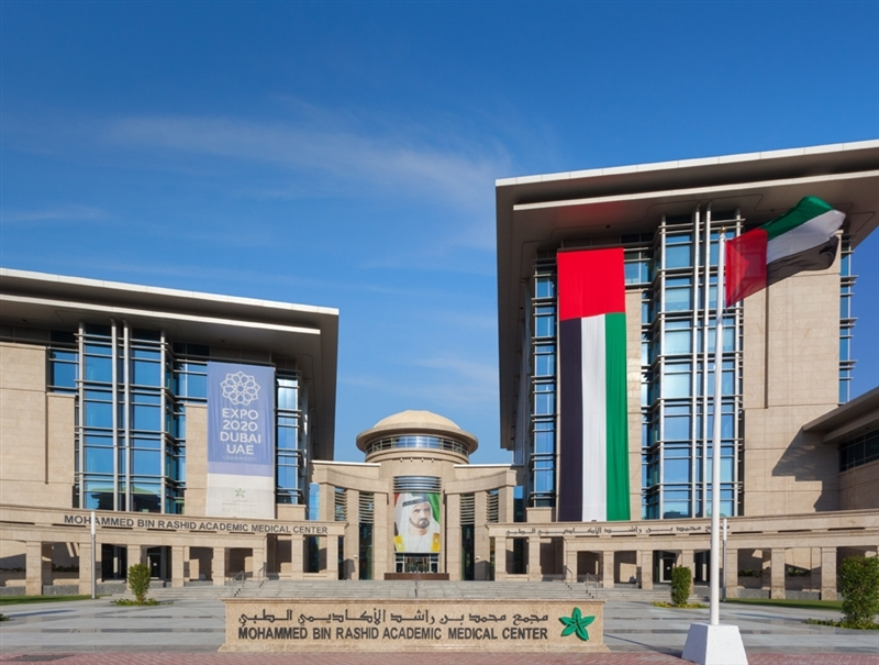 Mohamed Bin Rashid University Hospital, pictured here, will be one of the many Dubai Healthcare City Hospitals that will be using the services of the new Emirates Reference Laboratory.