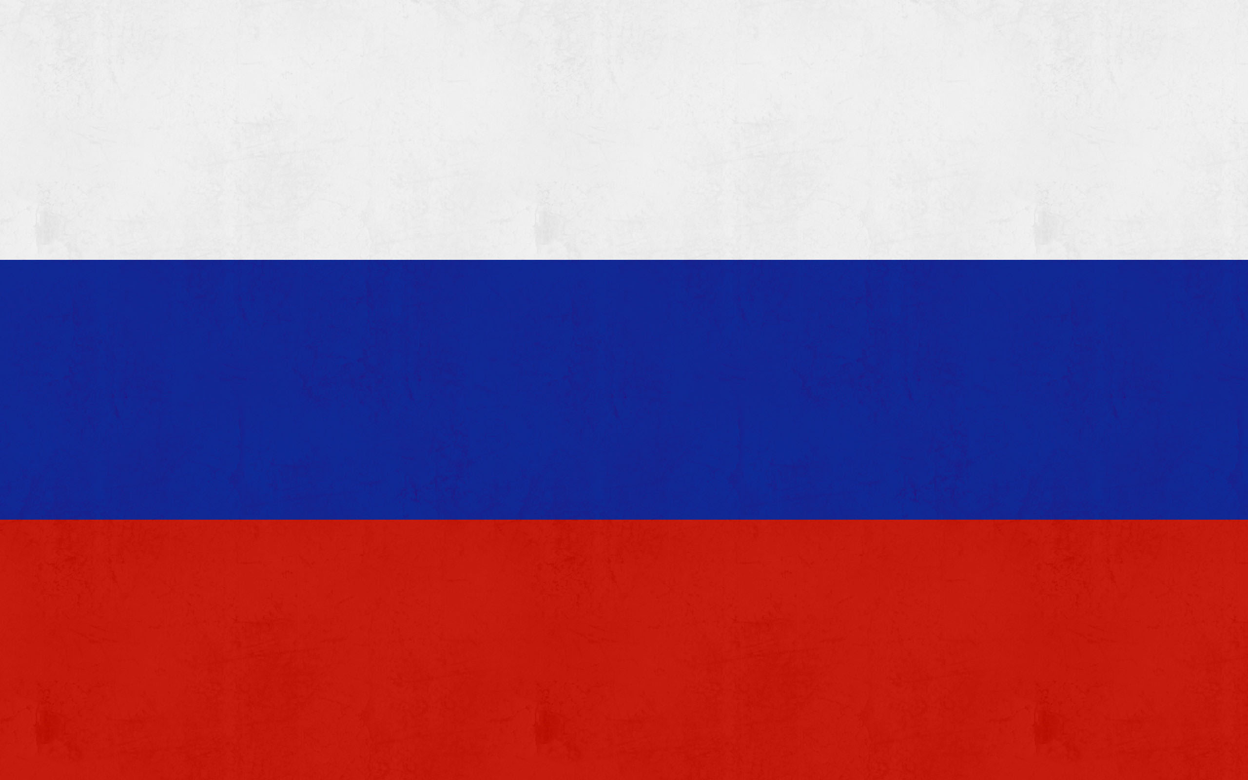 Pictured here is the Russia flag.
