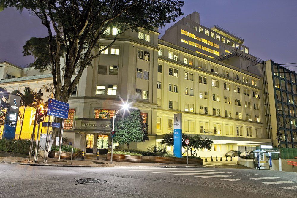 Samaritano Hospital in São Paulo is one of only a few hundred hospitals across Brazil that are accredited or have obtained some kind of accreditation.
