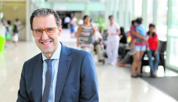 Negotiations for Ricardo Palma Hospital's acquisition by the Quirónsalud hospital group lasted close to four years, according to Ricardo Palma general manager, Mario Gonzalez, pictured here.