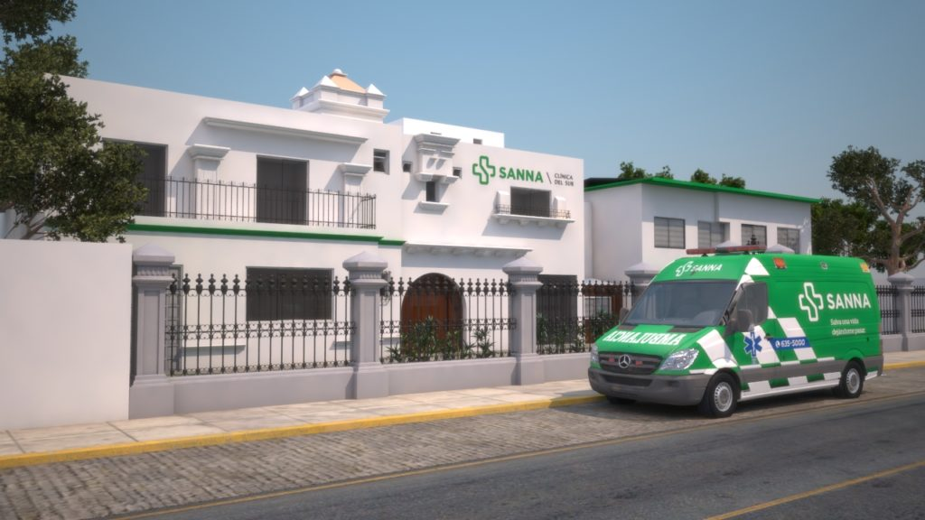 Clínica del Sur, located in Yanahuara, Arequipa, is one of nine clinics within the private SANNA healthcare network, a subsidiary of Pacifico Seguro