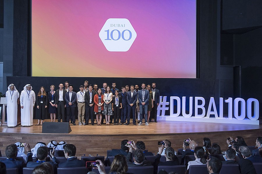 Newly-minted graduates (pictured here) of the Dubai 100, an incubator program designed to accelerate the growth of digital health startups, pitched to an audience of investors and healthcare industry experts at the conclusion of the program in the UAE.