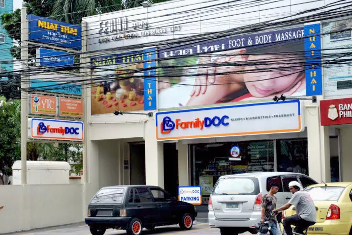 Ayala Health plans to be a major player in the Philippines' health system, launching FamilyDOC as an integrated health clinic, diagnostic facility and pharmacy.