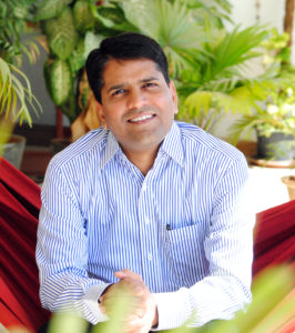 Vikram Vuppala (pictured here), Founder and CEO of dialysis chain NephroPlus, wants to go from having 117 clinics to 500 clinics operating across India.